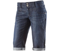 'Britt' 3/4-Jeans Damen blue denim