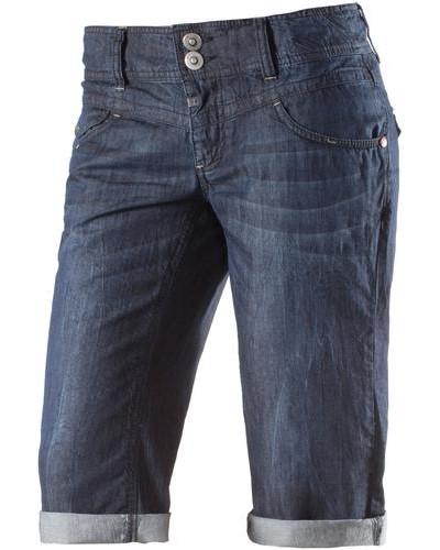'Britt' 3/4-Jeans Damen blue denim