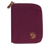 Geldbörse 12 cm pflaume