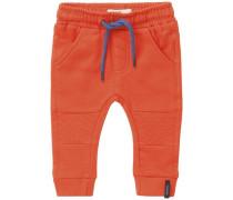 Jogginghose Davi blau / orange