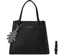Handtaschen ´modern Satchel´ schwarz