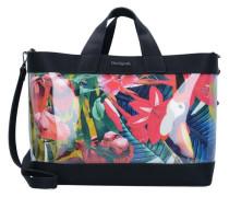 'bols Tropical Fly Shopper' Tasche 39 cm mischfarben / schwarz