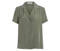 Kurzärmeliges Hemd grün