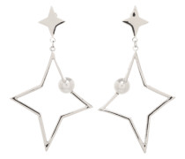 Ohrstecker 'Star' silber