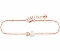Perlenarmband 'pearl twist C7338B/90/46/19' rosegold