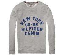 "Sweatshirt ""thdm Basic RIB CN Hknit L/S 11"" grau"