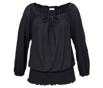 Carmenshirt schwarz