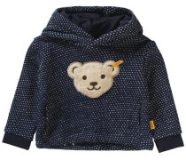 Baby Kapuzenpullover für Mädchen blau