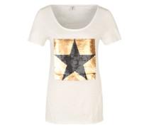 Oversize-Shirt 'Aura' weiß