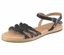Sandale 'Larisa' schwarz