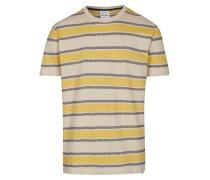 Shirt braun / gelb