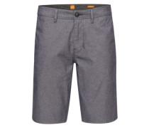 Shorts im Chino-Style 'Slender-Shorts-W' dunkelblau