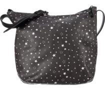 'Stars' Handtasche schwarz