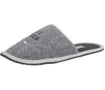 'Platzhirsch' Hausschuhe grau