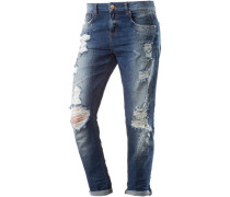 Boyfriend Jeans Damen blue denim