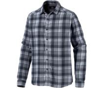 Langarmhemd Herren blau / grau