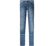 Jeans 'leaf' für Mädchen blue denim