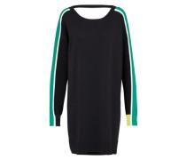 Kleid 'm-Longs' grün / schwarz