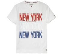"Hilfiger Denim T-Shirt ""thdm Basic CN T-Shirt S/S 20"" offwhite"