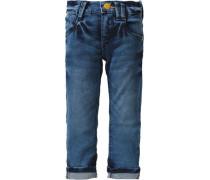 Jeans Slim für Jungen blue denim