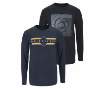Langarmshirt 'flaxton Pack Check'