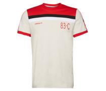 T-Shirt '83-C' rot / weiß