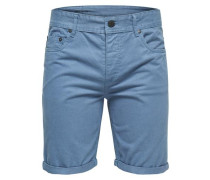 Shorts Twill- blau