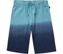 Jerseyshorts für Jungen blau / türkis