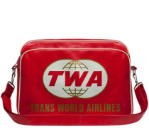 Tasche 'Trans World Airlines' rot