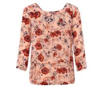Langärmeliges Blusenshirt 'Nessa' mischfarben / rosé