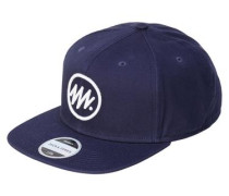 Snapback-Cap blau