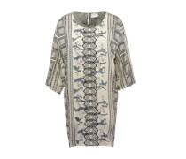 Kleid mit Ornamentprint 'Holly' weiß / mischfarben