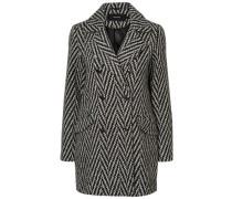 Langer Mantel grau / anthrazit