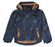 Übergangsjacke für Jungen blau / goldgelb