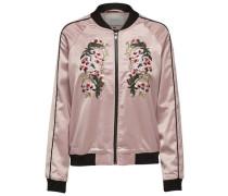 Bomber-Jacke mischfarben / rosa