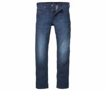 Regular-fit-Jeans 'daren' dunkelblau