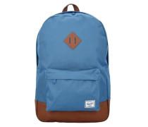 Rucksack mit Rucksack 'Heritage 17 Backpack' himmelblau / braun