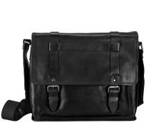Harper Aktentasche Leder 40 cm Laptopfach schwarz