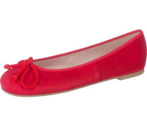 Ballerinas 'Ipnotic' mit Kordelschleife rot