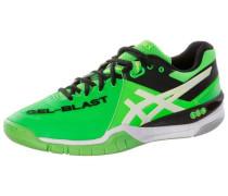 Gel Blast 6 Handballschuhe neongrün / weiß