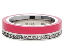 Fingerring Silber/Pink Marin 68 Esrg11565B pink / silber