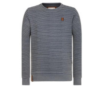 Sweatshirt 'Indifference Of Good Men Iii' rauchgrau / schwarz
