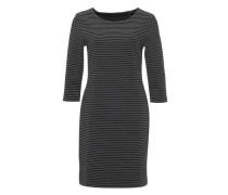 Jerseykleid 'Wonka stripe' schwarz