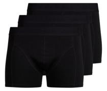 Boxershorts 3er-Pack schwarz