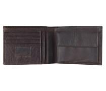 Walker Geldbörse Leder 12 cm braun