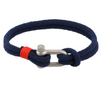 Stylisches Armband 'Clasp' blau