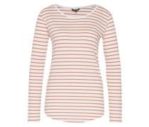 Shirt 'Luca' pink / weiß