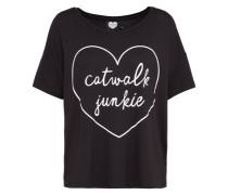 T-Shirt 'CJ Babe' schwarz