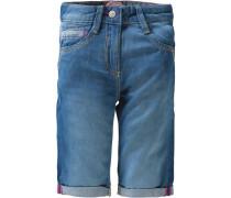 Slim Leichte Bermuda in Jeans-Optik blue denim