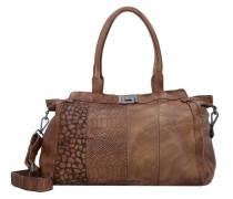 'Wild Life' Handtasche Leder 42 cm braun